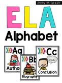 ELA Alphabet {Melonheadz Edition}