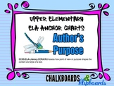 ELA Anchor Chart – Author's Purpose
