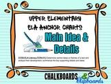 ELA Anchor Chart - Main Idea & Details