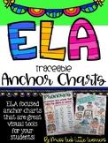 ELA Anchor Charts Bundle (Traceable)