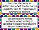 Anchor - ELA CCSS I Can Statements (Jewel Polka Dots and Black Dots)