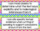 Anchor - ELA CCSS I Can Statements (Bright Chevron and Gray Chevron)