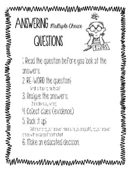 How To Answer Multiple Choice Questions