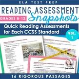ELA Assessment Snapshots VOL. 1: Reading Assessments for E