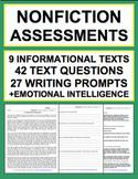 ELA Assessment & Test Prep: Reading Informational Text, Writing, SEL Bundle