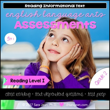 2nd Grade • Reading Comprehension Passages and Questions • RL I • Set 1