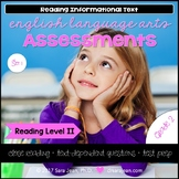 2nd Grade • Reading Comprehension Passages and Questions • RL II