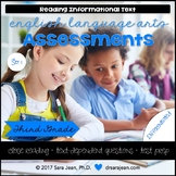 3rd Grade • Reading Comprehension Passages and Questions • RL I & II • Set 1