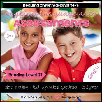 4th Grade • Reading Comprehension Passages and Questions • RL II