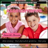 4th Grade • Reading Comprehension Passages and Questions • RL I & II