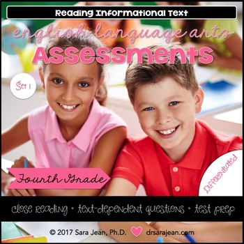 4th Grade • Reading Comprehension Passages and Questions • RL I & II • Set 1