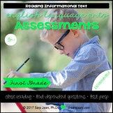 1st Grade • Reading Comprehension Passages and Questions • RL I & II