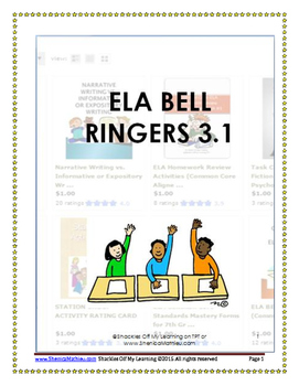 ELA BELL RINGERS 3.1