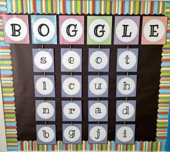 ELA BOGGLE Game