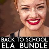 ELA Common Core | ELA Bundle of Narrative Writing, Growth Mindset, Poetry