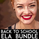 ELA Back to School Bundle: Growth Mindset Activities, Poetry Unit | ELA Bundle