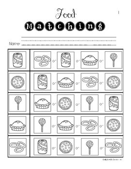 ELA Basic Skills Unit for Special Education: Food Edition