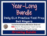 ELA Bell Ringers - CC Standards Practice Upper Elem/Middle