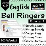 ELA Bell Ringers - Digital