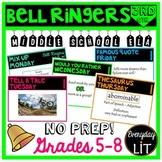 ELA Bell Ringers Middle School (Quarter 3)