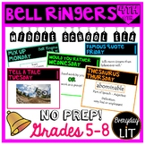 ELA Bell Ringers Middle School (Quarter 4)