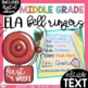 ELA Bell Ringers Upper Elementary & Middle School EDITABLE {Entire Year Bundle}