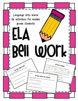 ELA Bell Work