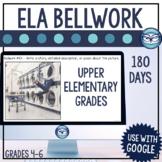 ELA Bellringers for Distance Learning   Upper Elementary