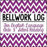 ELA Bellwork/SSR Log
