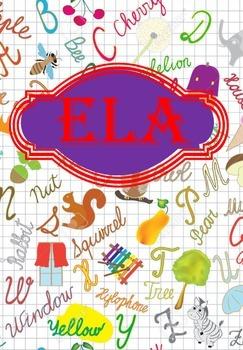 ELA Binder Covers