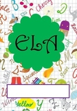 ELA Binder Cover