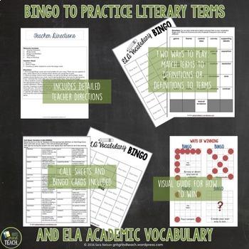 ELA Test Prep: Bingo