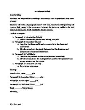 ELA Book Report
