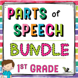 Parts of Speech Activities - 1st Grade Bundle