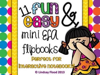 ELA Interactive Notebook Flip Books
