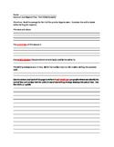ELA COMMON CORE REGENTS PART 3 OUTLINE - Text Analysis