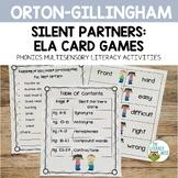 Silent Partners: ELA Card Games   Phonics Awareness Multis
