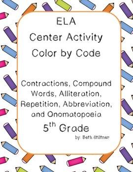 Word Work Center Activity