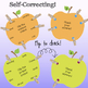 ELA Center Activity to Practice Common & Proper Nouns- Self-Correcting!
