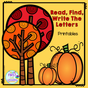 ELA Center Halloween: Read and Write Letters