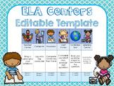 ELA Center PowerPoint