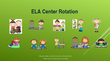 ELA Center Rotation PowerPoint
