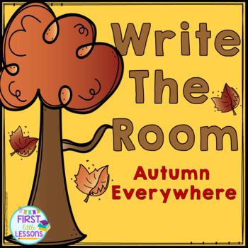 ELA Center:  Write The Room Autumn Everywhere