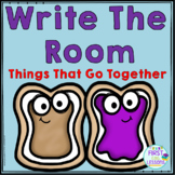 ELA Center:  Write The Room Things That Go Together