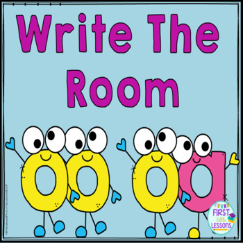 ELA Center: Write The Room Vowel Teams/Double Vowels oo/oa