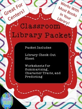 Classroom Library Packet and Supplemental Response Activities
