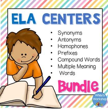 ELA Centers Bundle for Upper Elementary