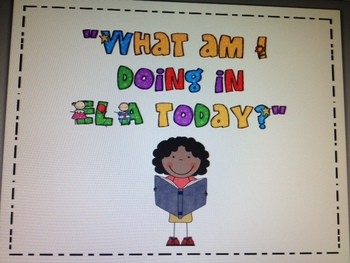 ELA Centers Clip Chart