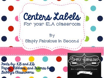 ELA Centers Labels