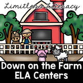 ELA Centers for Second Grade (Limitless Literacy: Down on the Farm)